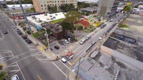 Wynwood video aéreo Miami 11 4k vídeos de arquivo