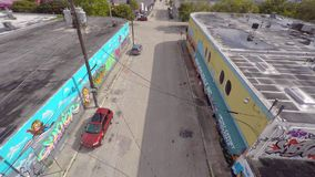 Wynwood video aéreo Miami 14 4k metrajes