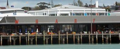 Wynyard处所江边在奥克兰-新西兰 免版税库存图片