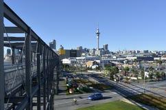Wynyard ćwiartka Auckland, Nowa Zelandia - obrazy royalty free