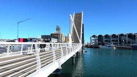 Wynyard Crossing in Auckland New Zealand Stock Photos