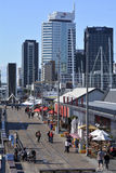 Wynyard fjärdedel Auckland - Nya Zeeland fotografering för bildbyråer
