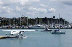 Wynyard hamnplats Auckland Nya Zeeland Arkivfoton