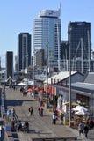 Wynyard ćwiartka Auckland, Nowa Zelandia - Obraz Stock