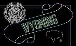 Wyoming ślimacznica ilustracja wektor