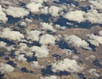 Wyoming from the Air Royalty Free Stock Photo