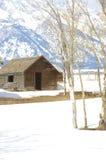 Wyoming barn Royalty Free Stock Photo