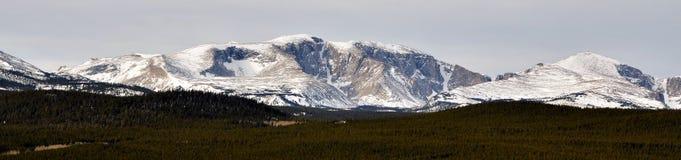 Wyoming berg Arkivfoton
