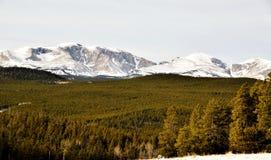 Wyoming berg Arkivfoto