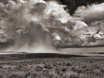 Wyoming burza obrazy royalty free