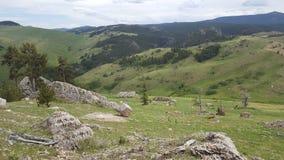 Wyoming cerca de Casper imagenes de archivo
