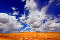 Wyoming Country Landscape Royalty Free Stock Photos