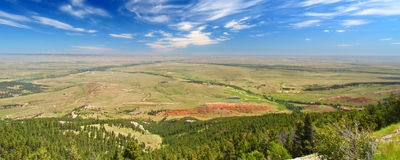 Wyoming Countryside Scenery Royalty Free Stock Image