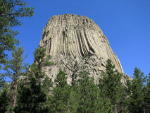 Wyoming - Devil's Tower Stock Photo