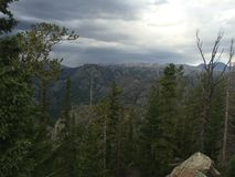 Wyoming för stormen Royaltyfri Bild