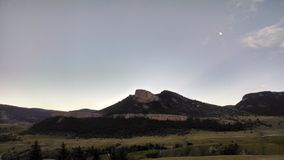 Wyoming góra Fotografia Stock