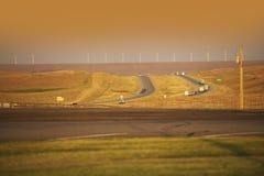 Wyoming Highway I-80 Stock Photography