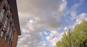 Wyoming himlar Arkivbild