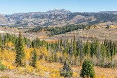 Wyoming Landscape in Autumn Royalty Free Stock Images