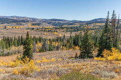 Wyoming Landscape in Fall Royalty Free Stock Image