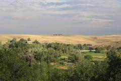 Wyoming - montanhas imagem de stock
