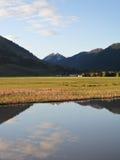 Wyoming morgon Fotografering för Bildbyråer
