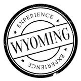 Wyoming rubber stamp Royalty Free Stock Photos