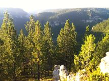Wyoming-Sonnenlicht Lizenzfreie Stockfotografie