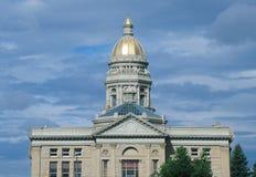 Wyoming stan Capitol Zdjęcia Royalty Free