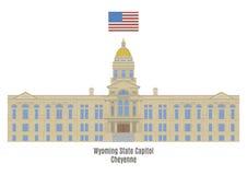 Wyoming State Capitol, Cheyenne Stock Photo