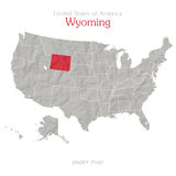 Wyoming Royalty Free Stock Photography