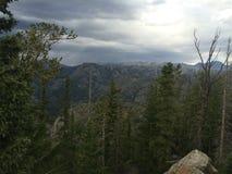 Wyoming vóór het onweer Royalty-vrije Stock Afbeelding