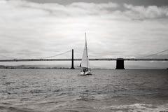 wypływa San Francisco bay Obraz Stock