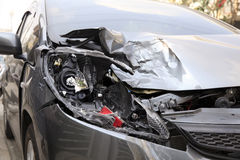 Wypadek samochodowy Obrazy Stock