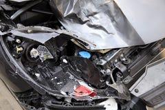 Wypadek samochodowy Zdjęcie Stock