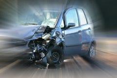 wypadek samochodowy zdjęcia royalty free