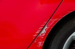 Wypadek samochodowy - Roztrzaskujący ciało zdjęcie royalty free