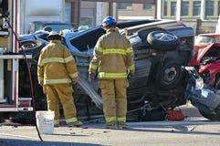 wypadek samochodu Obrazy Stock
