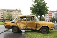 wypadek samochodu Obrazy Royalty Free