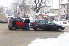 Wypadki samochodowi Zdjęcie Stock
