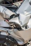 Wypadki samochodowi fotografia royalty free