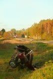 wypadkowa droga zdjęcia stock