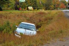 wypadkowy samochód Obrazy Stock