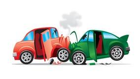 wypadkowy samochód royalty ilustracja