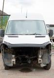 Wypadku samochód Obrazy Royalty Free