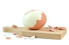wyparzonych jajko Obraz Royalty Free
