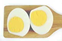 wyparzonych jajko Zdjęcie Stock
