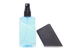 wypełniać butelki są pożytecznie dla ludzi w potrzebie, odosobniony biały tło Zdjęcie Stock