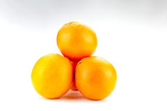 Wypiętrzająca up pomarańcze Obraz Royalty Free