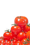 wypiętrzający pomidory up rozmaitość Zdjęcie Royalty Free